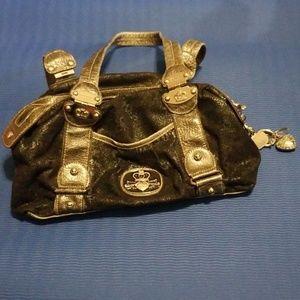 Kathy van Zeeland purse w/ keychain